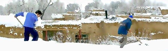 برف های خانه مادربزرگ