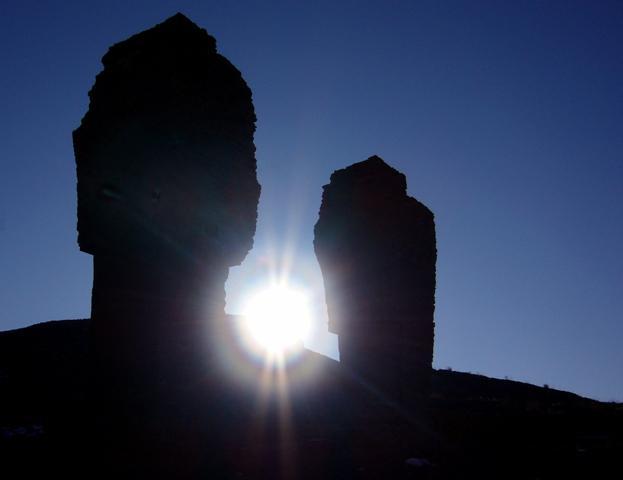 چارتاقی بتخانه آتشکوه، طلوع خورشید در انقلاب زمستانی